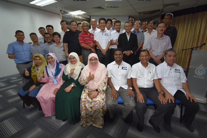 LAWATAN THE INSTITUTION OF ENGINEERS , MALAYSIA KE SAMB
