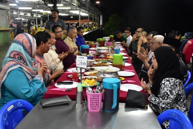 Majlis Makan Malam SAMB Bersama Delegasi Kerajaan Negeri Kedah & Kontraktor Aquadeluxe SDN.BHD.