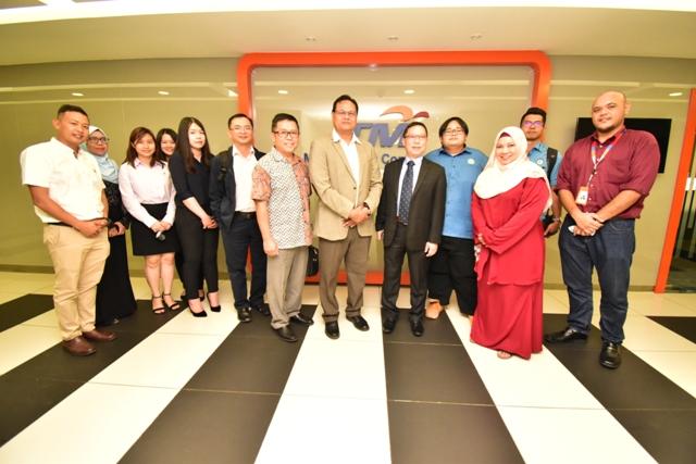 Lawatan Jabatan Bekalan Air Luar Bandar Sarawak