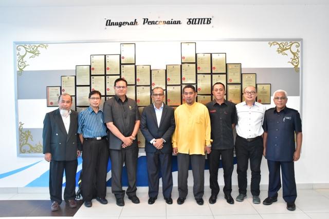 Lawatan Kerja Raya, Bekalan Air Negeri Kedah Bersama Delegasi Kerajaan Negeri Kedah Ke SAMB & Kompleks Loji Bertam, Durian Tunggal