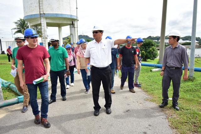 Lawatan Lembaga Air Kuching (LAK) Bersama SAMB Ke Loji Air Bukit Sebukor & Makan Tengahari