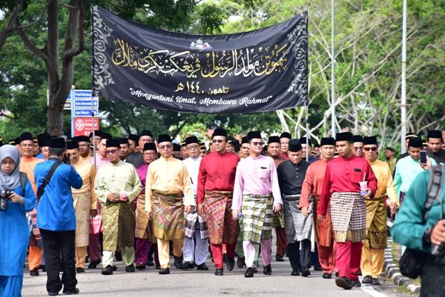 Perarakan Maulidur Rasul Peringkat Negeri Melaka
