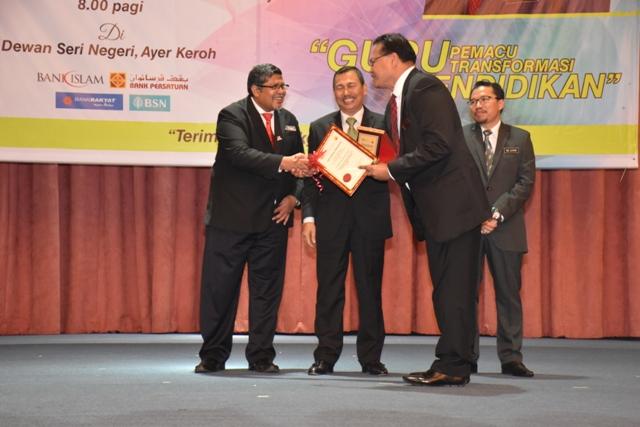Sambutan Hari Guru Peringkat Negeri Melaka 2018, Penerima ANUGERAH PENGARAH Kepada SAMB