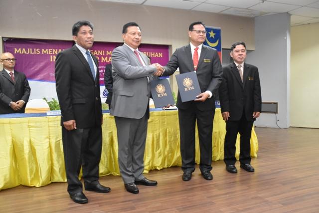 Majlis Menandatangani MOU & Penubuhan Institut Air Malaysia