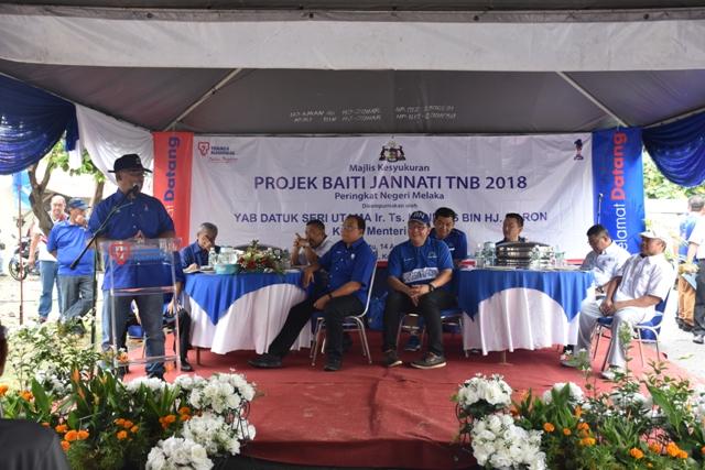 PROJEK BAITI JANNATI TNB 2018 BERSAMA SAMB PRIHATIN