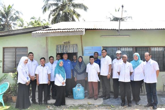 SAMB Prihatin Bersama Masyarakat JKK Kg Pinang Air Limau Masjid Tanah Melaka