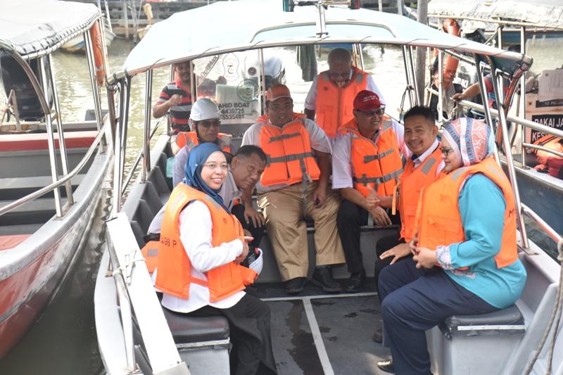 Lawatan SAMB Ke Loji Pulau Besar Melaka.