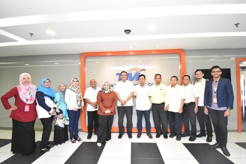 Lawatan Syarikat Air Terengganu Ke Syarikat Air Melaka & TM One