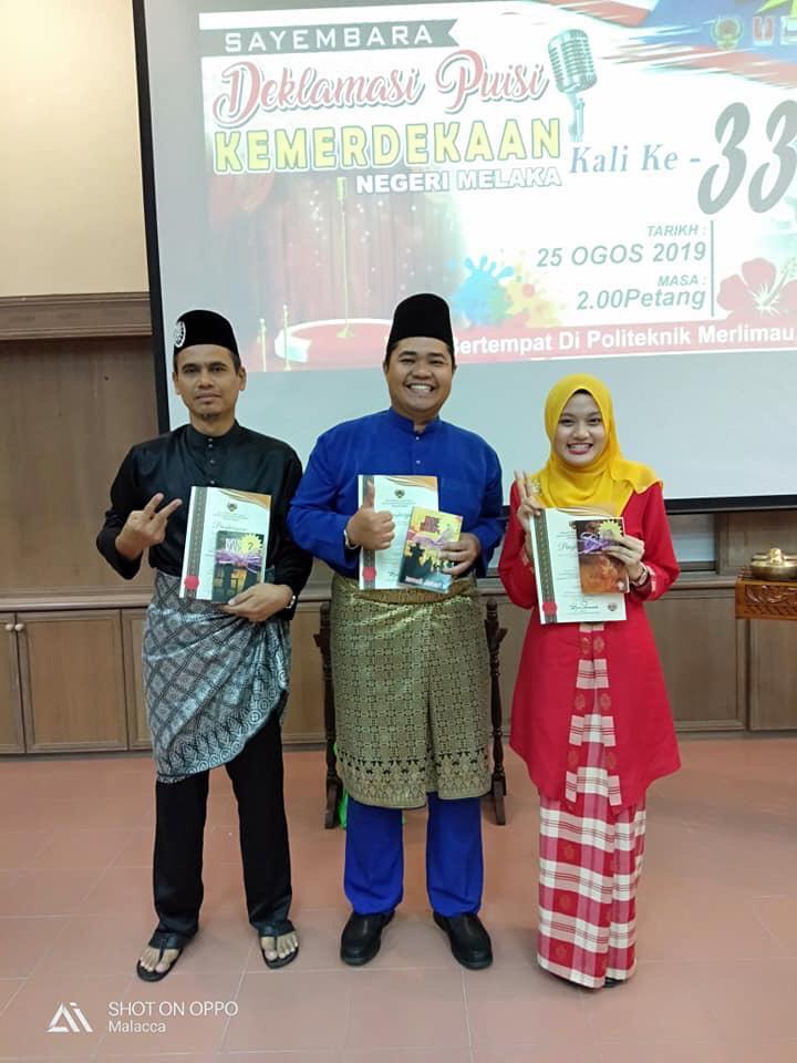 Johan Sayembara Deklamasi Puisi Peringkat Negeri Melaka 2019
