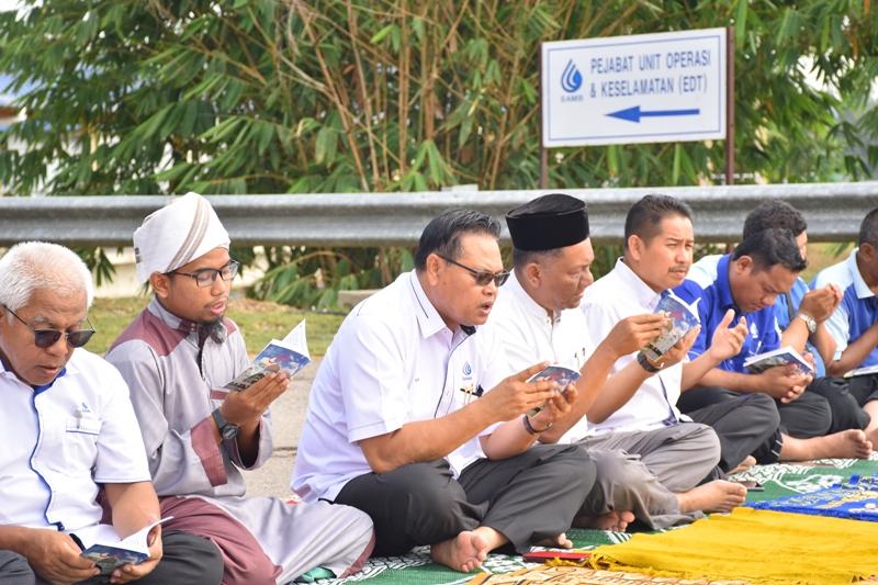 Tajuk Majlis Bacaan Yassin & Solat Hajat Mohon Hujan