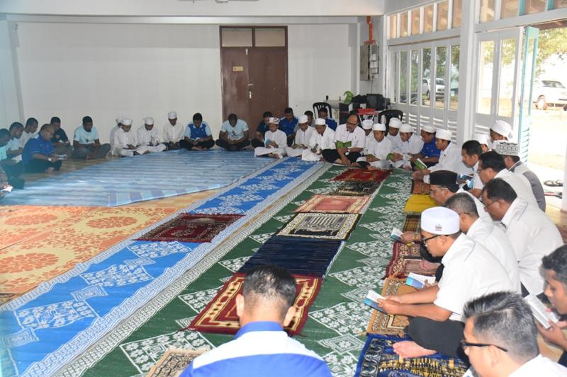 Majlis Bacaan Yassin & Solat Hajat Mohon Hujan.