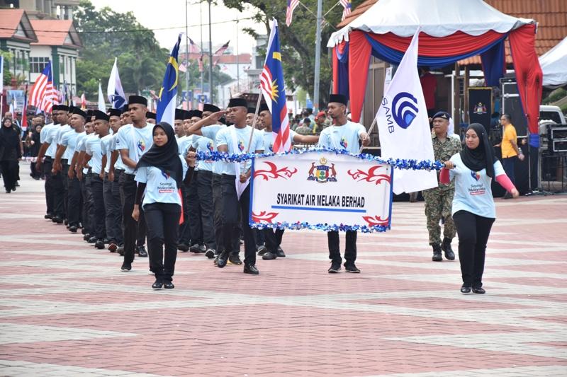 Latihan Perbarisan Kemerdekaan Peringkat Negeri Melaka