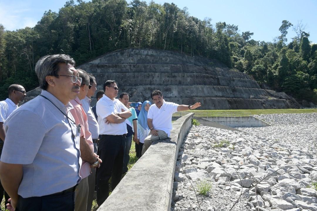 Majlis Lawatan ke Perbadana Bekalan Air Pulau Pinang bagi Mempelajari Pengurusan Sumber Air Mentah (Loji Sungai Dua) dan Selenggaraan