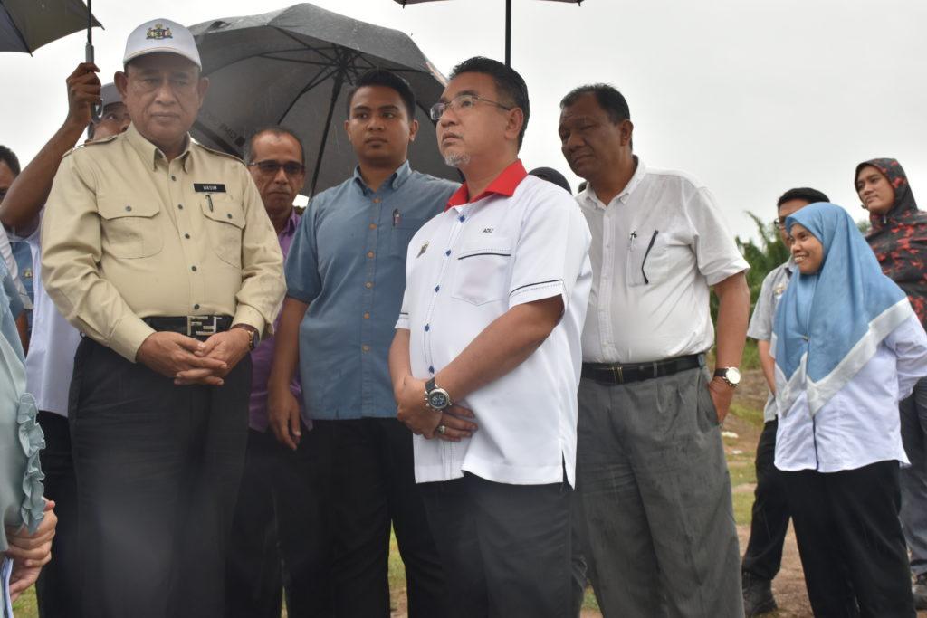 Program Turun Padang YAB Ketua Menteri Melaka Ke Kawasan Sumber Air Sg Kesang