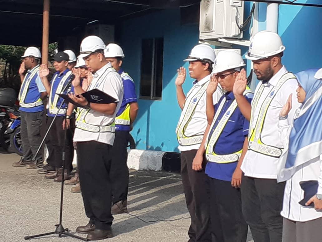 Ikrar Bebas Rasuah di Daerah Melaka Tengah